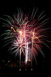 Fireworks. Colourful New Year's eve fireworks Royalty Free Stock Photo