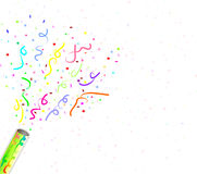 Fireworks confetti. Fireworks, confetti celebration, for birthday and party Stock Images
