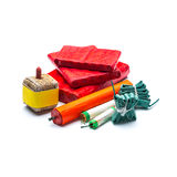 Fireworks Cracker Assortment Stock Photography