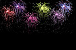 Fireworks crackers Royalty Free Stock Images