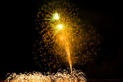 Fireworks Danang Vietnam 2013 Royalty Free Stock Photo
