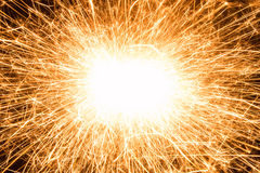 Fireworks. In the dark for holiday Royalty Free Stock Image
