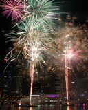 Fireworks, Darling Harbour, Sydney. Australia. They happen almost every Saturday royalty free stock photos