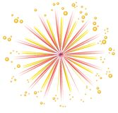 Fireworks design Royalty Free Stock Photography