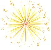 Fireworks design Royalty Free Stock Images