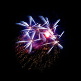 Fireworks. The disintegration of fireworks Royalty Free Stock Photos