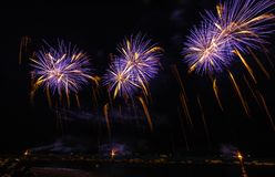 Fireworks Display stock photography