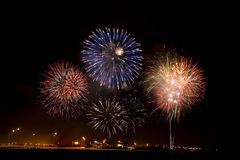 Fireworks display Royalty Free Stock Image
