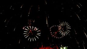 Fireworks. Display celebration, Colorful Firework HD with sound audio
