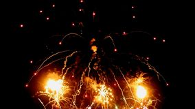 Fireworks stock video
