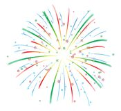 Fireworks Display Royalty Free Stock Images