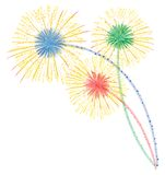 Fireworks vector Stock Photography