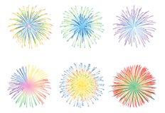 Fireworks vector Stock Photos