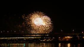 Fireworks display. Festival fireworks. 4K 30fps stock video