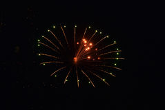 Fireworks display for holiday Royalty Free Stock Image