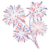 Fireworks vector Stock Photo