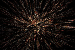 Fireworks Display In Sky Stock Photos