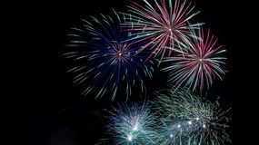 Fireworks display Stock Photos