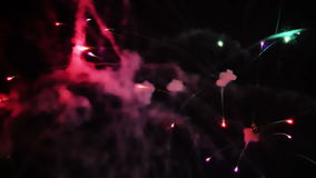 Fireworks Display stock video