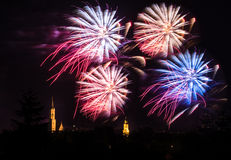 Fireworks Display Royalty Free Stock Photo