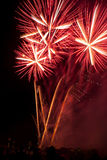 Fireworks display Stock Image
