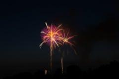Fireworks display Stock Photos