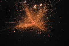 Fireworks. Diwali is really a fabulous festival and fireworks play a significant role in increasing its charm among all age-groups. Whether they are kids Stock Photo