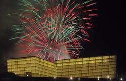 Fireworks in Donostia, Gipuzkoa Stock Images