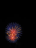 Fireworks at event royalty free stock photo