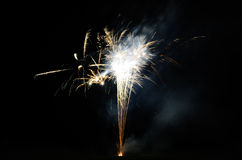 Fireworks on event Royalty Free Stock Photo