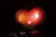 Fireworks, Event, Sky, Atmosphere Of Earth Royalty Free Stock Photos