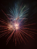 Fireworks. Exploading in the skies Royalty Free Stock Image