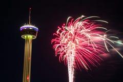 Fieesta San Antonio Opening Night Celebration Royalty Free Stock Photography