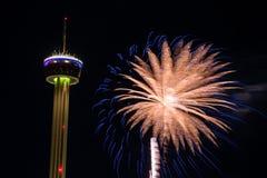 Fieesta San Antonio Opening Night Celebration Royalty Free Stock Image