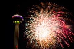 Fieesta San Antonio Opening Night Celebration Royalty Free Stock Images