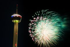 Fieesta San Antonio Opening Night Celebration Royalty Free Stock Photo