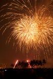 Fireworks Exploding Stock Photography