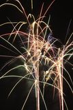 Fireworks exploding. Royalty Free Stock Images