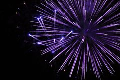 Fireworks Exploding for Celebration stock photo