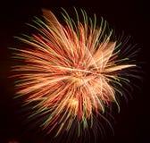 Fireworks Exploding Stock Image