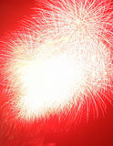 Fireworks explosion Royalty Free Stock Image