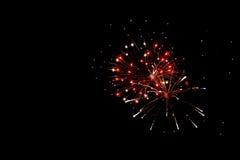 Fireworks explosion Stock Photos
