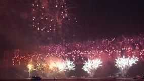 Fireworks explosion festival