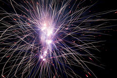 Fireworks explosions Stock Photos
