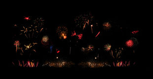 Fireworks Extravaganza Royalty Free Stock Photo