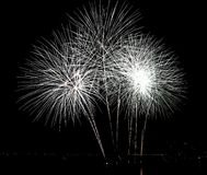 Fireworks. Festival 2014 Stock Photos