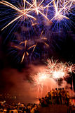 Fireworks festival Stock Photography