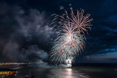 Fireworks festival 2017 stock photo