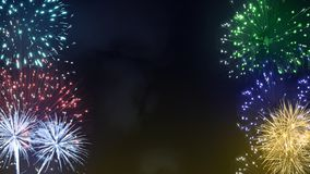 Fireworks festival background royalty free stock images