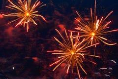 Fireworks Festival Stock Images